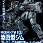 P-Bandai HGUC 1/144 Ground Type GM SLAVE WRAITH parachute pack spec ACE PILOT LOG Series