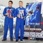 Japanese astronauts visit factory making Gunpla bound for space