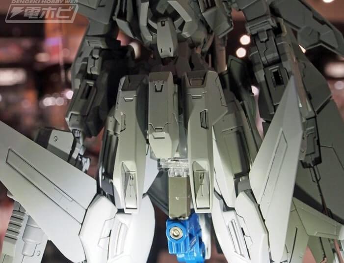 wings closeup of Gundam Kyrios