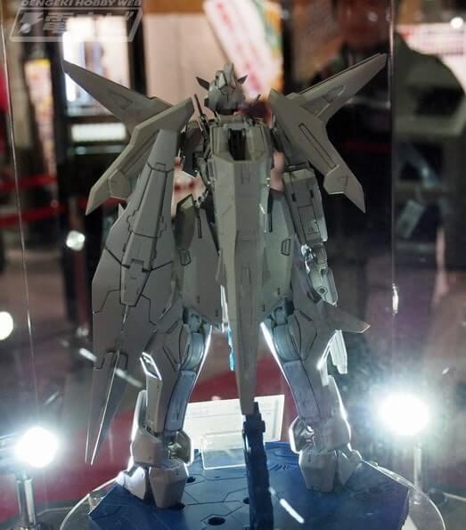 rear view of Gundam Kyrios