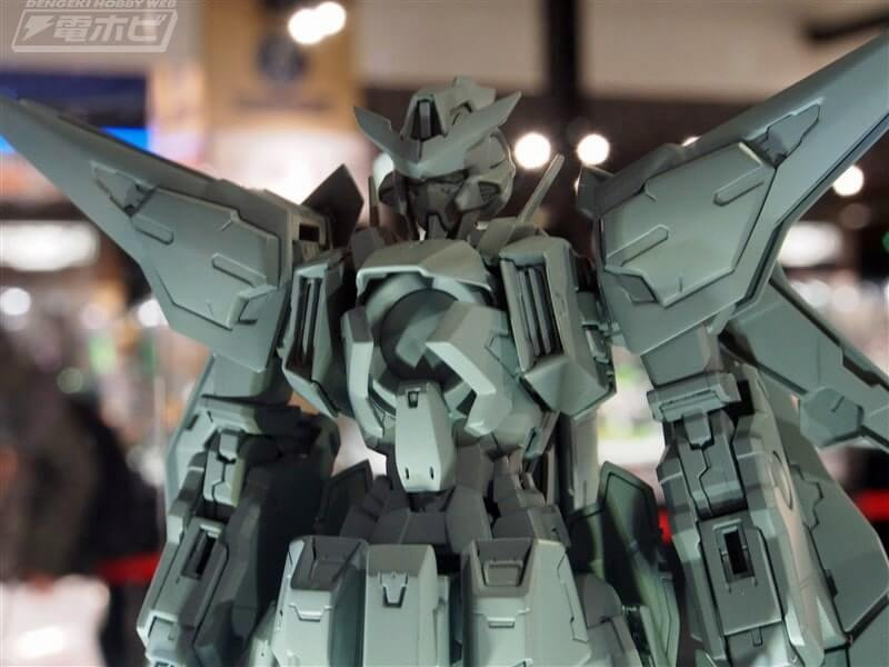 another view of the body of Gundam Kyrios