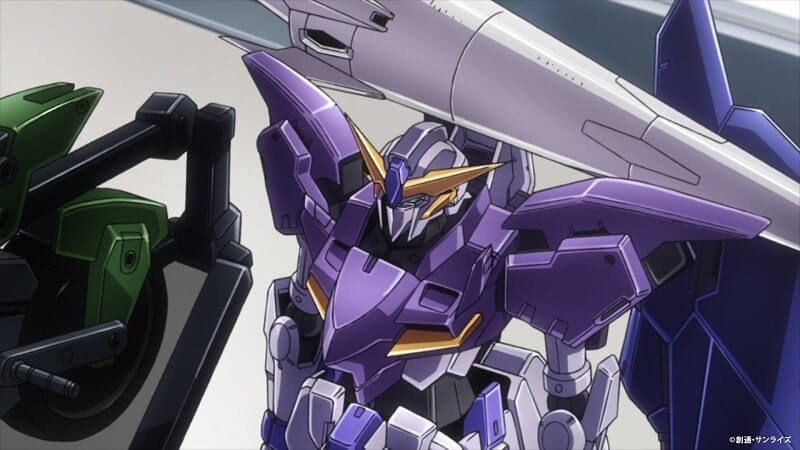 screen from the anime gundam tertium