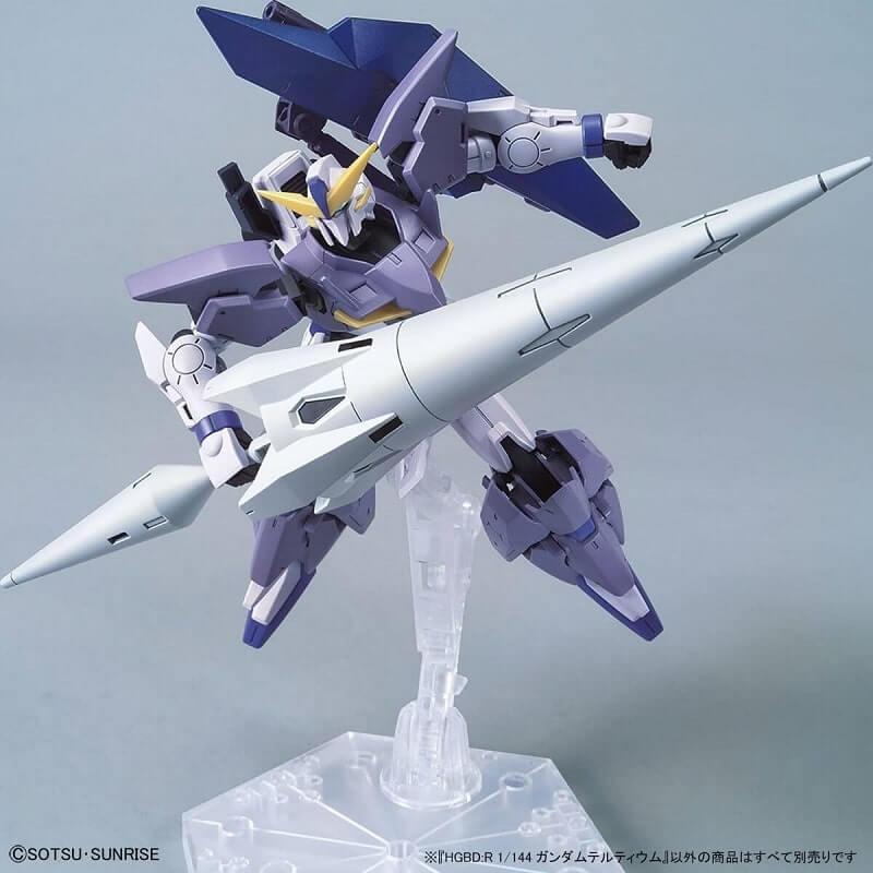 Masaki Shido's custom built Gunpla