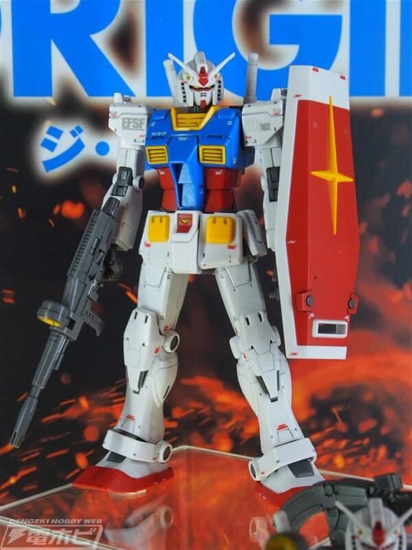 front view of Gundam the Origin Custom