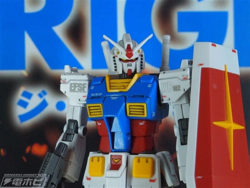 body closeup of Gundam the Origin Custom