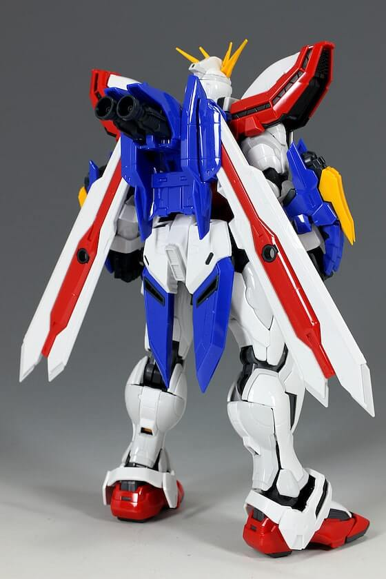 another rear view of HiRM God Gundam