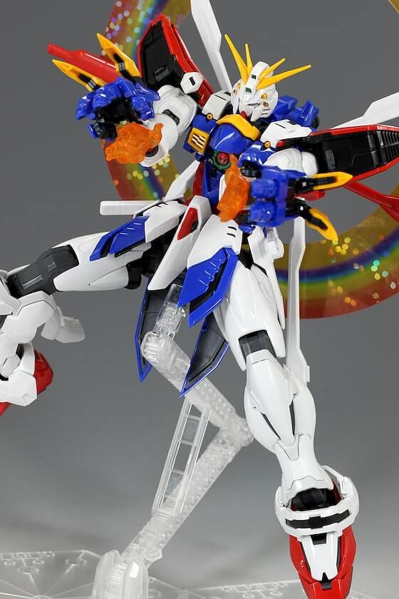 weapons of HiRM God Gundam
