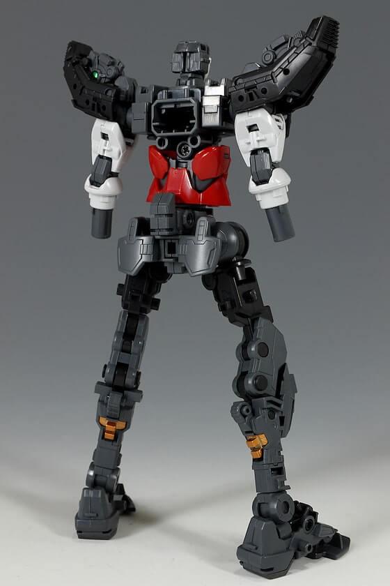 rear inner frame of HiRM God Gundam