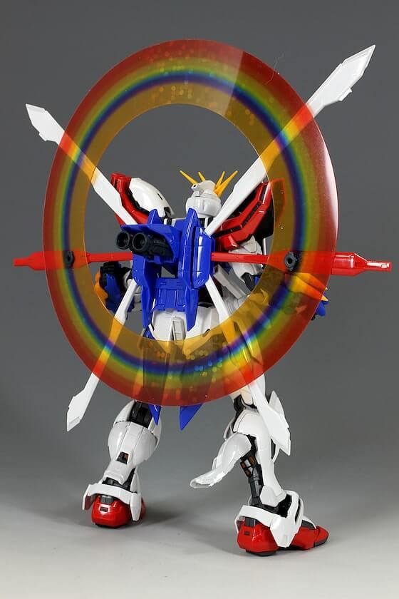 rear weapon of HiRM God Gundam