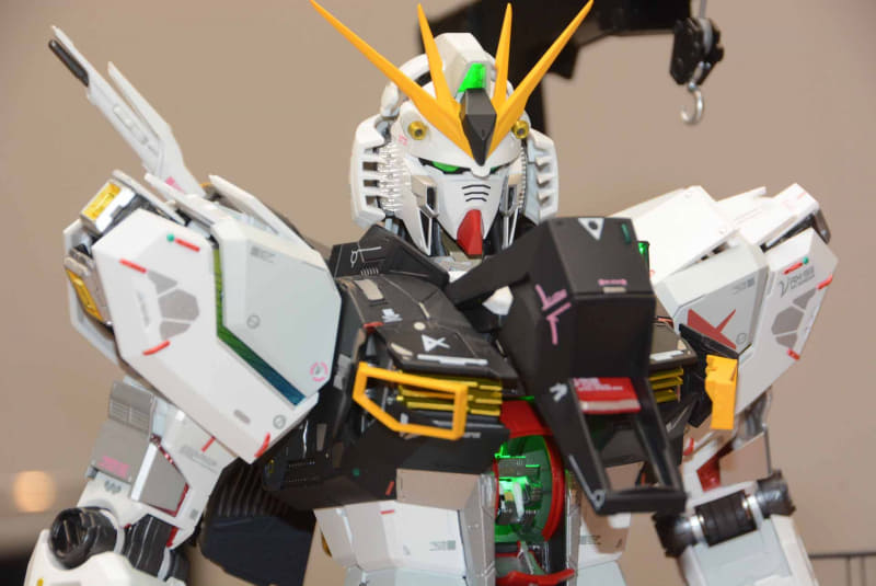 Nu Gundam REVIEW at Tamashii Nations