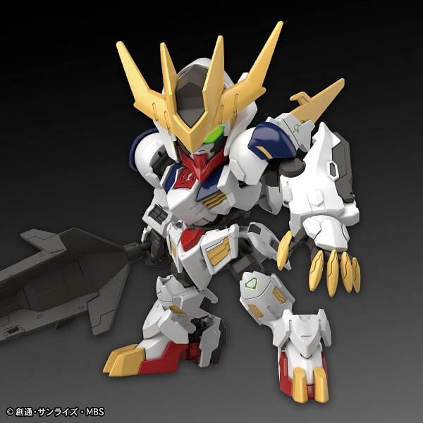 official image of SDCS Gundam Barbatos Lupus Rex