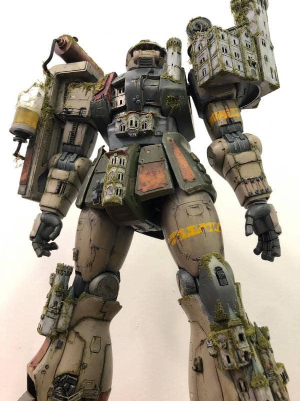 Mega size model 1/48 Zaku II