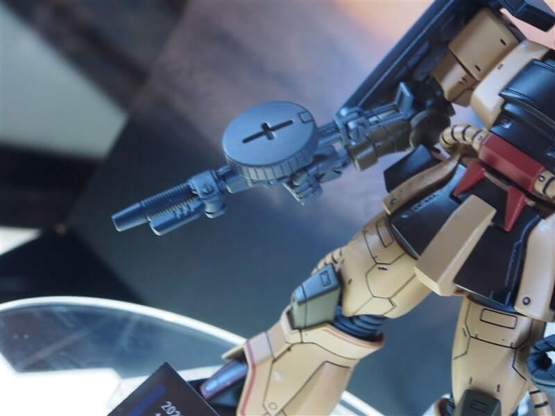 weapons of Zaku Desert Type