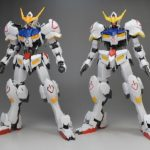 Review Comparison MG Gundam Barbatos with the old 1/100 scale