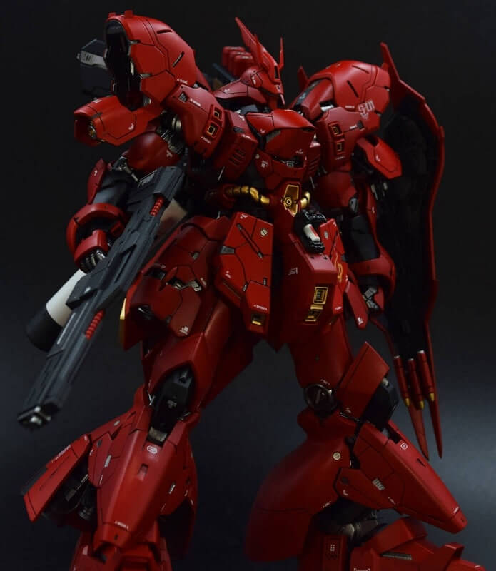 sazabi improved real grade series