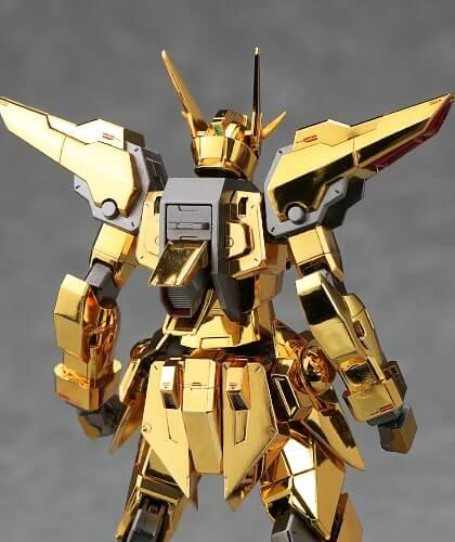 rear view of Akatsuki Gundam