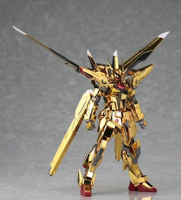 another rear view of Akatsuki Gundam