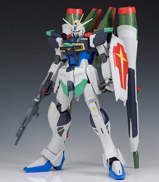 front view Blast Impulse Gundam