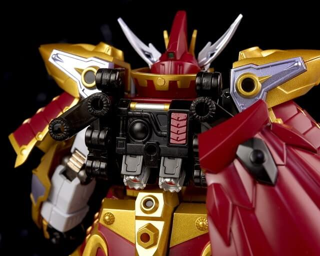 rear view for the Cao Cao Gundam Real Type