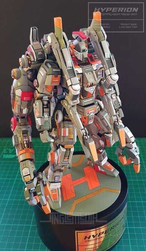 top view for the GM Conversion HYPERION