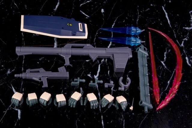 full weapons set for the GM Custom