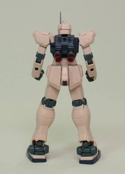 rear view of ROBOT魂 GM Type C