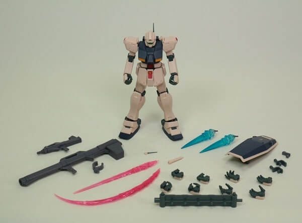 full set included in the box for the ROBOT魂 GM Type C