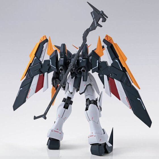 rear view of Gundam Deathscythe EW Roussette