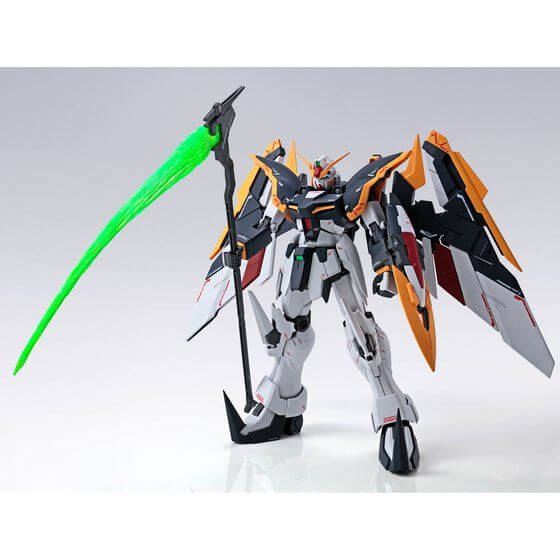 front view of the Gundam Deathscythe EW Roussette