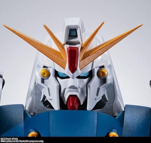 head closeup of the Gundam F91 Evolution