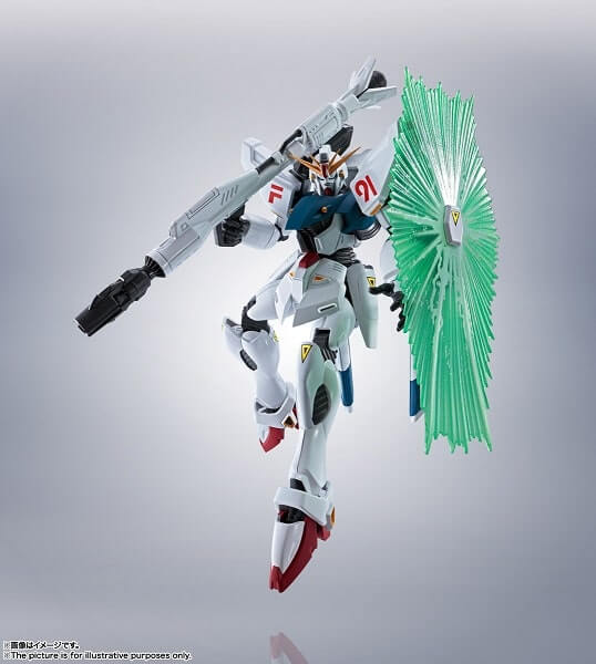 cannon and shield of Gundam F91 Evolution