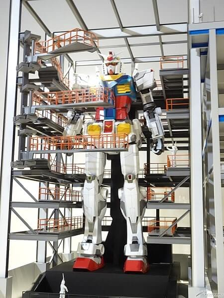 prototype Gundam Factory Yokohama