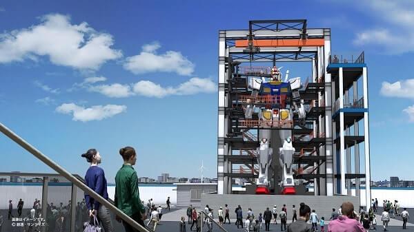 place where there will be the Gundam Factory Yokohama