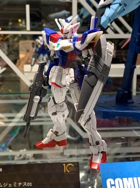 side view of HG Gundam Geminass 01