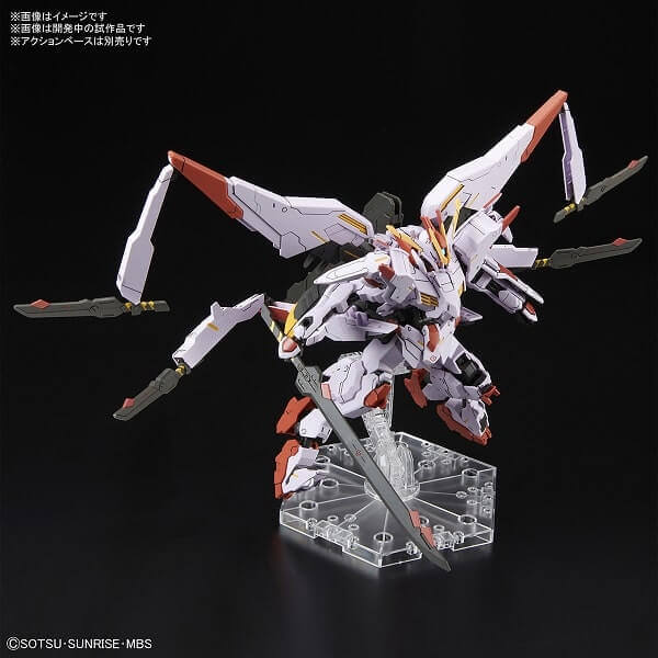 full weapons in action photo of Gundam Marchosias
