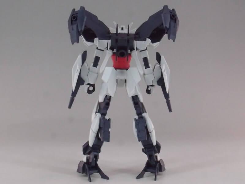 rear view of Jupitive Gundam