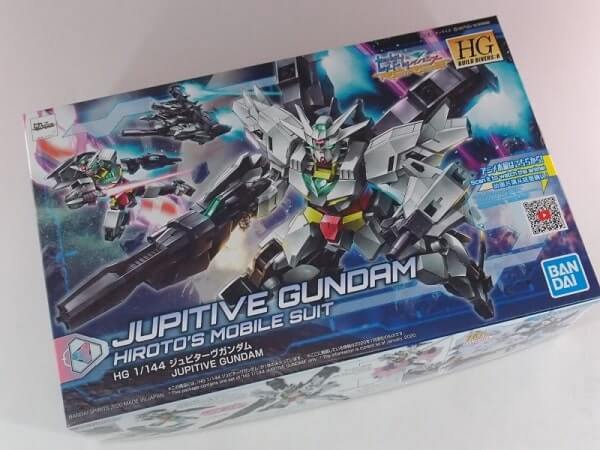 box art of the Jupitive Gundam