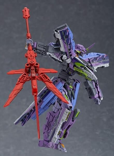 Shinkalion 500 TYPE EVA with weapon side view