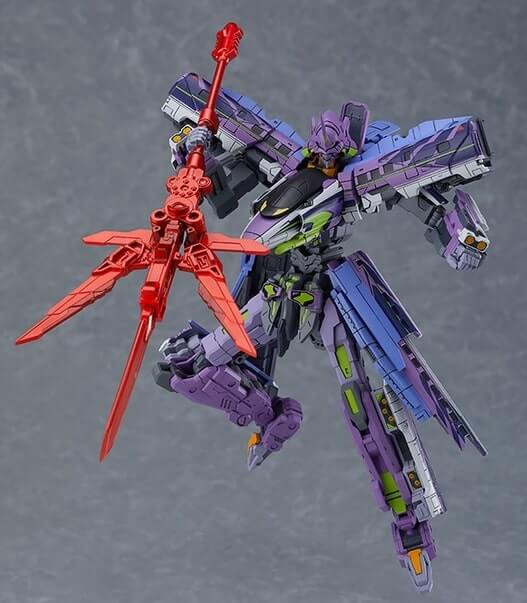 MODEROID Shinkalion TYPE EVA with weapon
