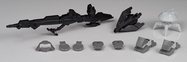 weapons set photo for the Portanova Space Type Gray