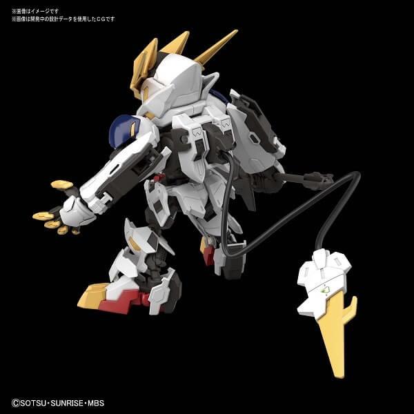 rear view SDCS Gundam Barbatos Lupus Rex