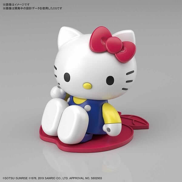 another pose of hello kitty