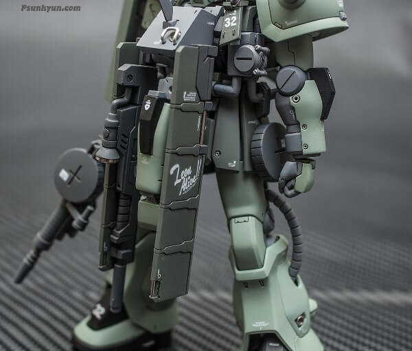 particular of the weapon of the zaku stutzer