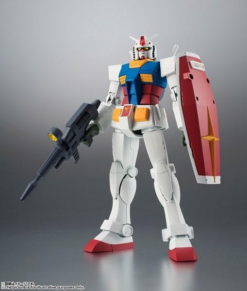 front view RX-78-2 Gundam ver. A.N.I.M.E.