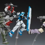 REVIEW P-Bandai HG The Origin MSD Series GM Guard Custom with E-2 Beam Spray Gun