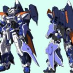 "Astray Blue Frame 2nd Revise underwater equipment ""Scale System"" Manga version illustration and setting image released"