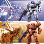 30MM 1/144 RABIOT White / Orange : box arts, images, info releases