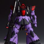 [Sample] MG 1/100 MS-09R Rick Dom / Kai + Beam Bazooka Garage Kit The 51. Painted build images