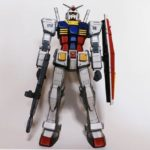 REVIEW skvyxztp's Mega Size 1/48 Gundam painted in Anime Style