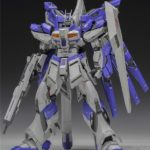 The 51 MG 1/100 RX-93-v2 Hi-v Gundam Ver.Ka Modified resin kit
